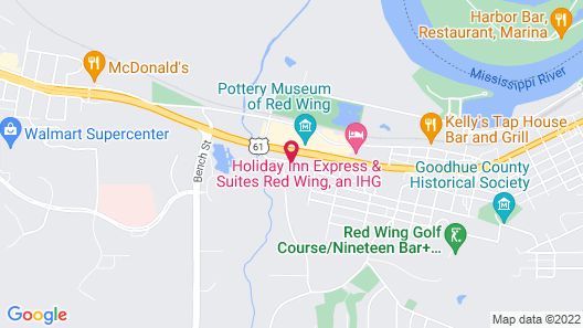 Quality Inn & Suites Red Wing Map