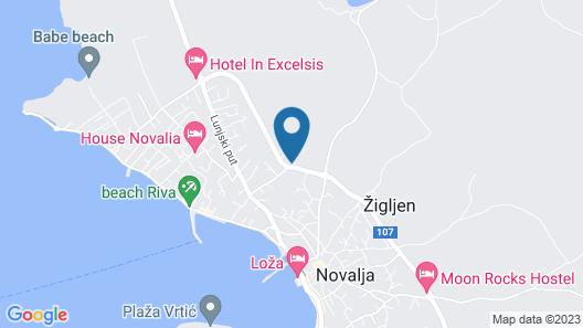 Residences Bellavista 2 Map