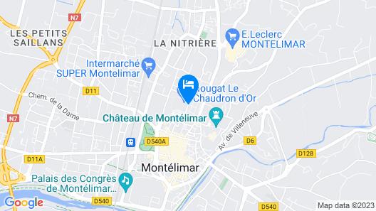 Appart'City Montélimar Map