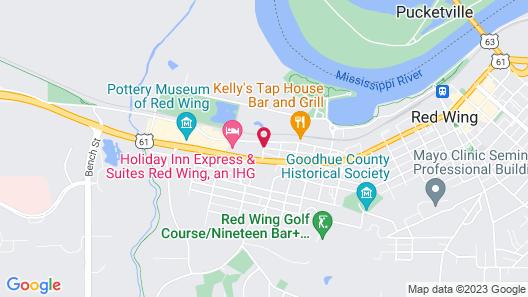 Nichols Inn of Red Wing Map