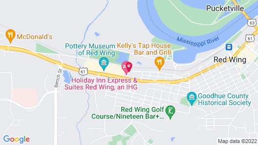 Holiday Inn Express & Suites Red Wing, an IHG Hotel Map