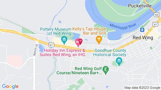 AmericInn by Wyndham Red Wing Map