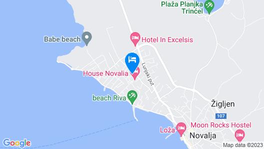 Villa Joso Map