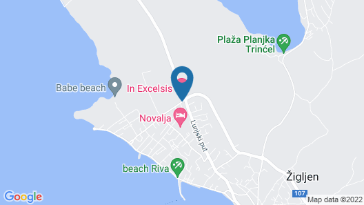 Hotel In Excelsis Map