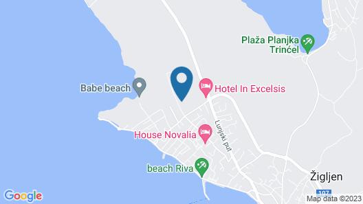 Apartments Villa Banta Map