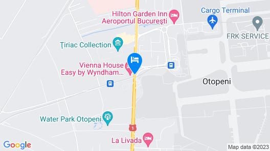Vienna House Easy Airport Bucharest Map