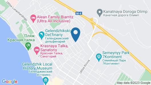 Morskaya zvezda Map