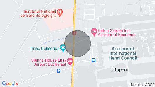 Bright Apartment Next to Otopeni Airport Map