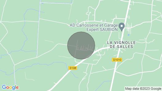 Chalet au Porte du Bassin Map