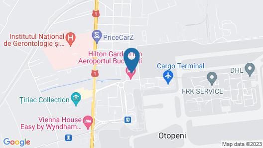 Hilton Garden Inn Bucharest Airport Map