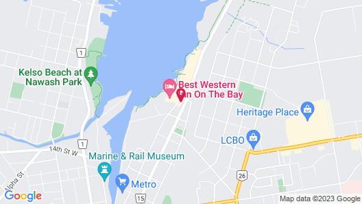 Best Western Inn On The Bay Map