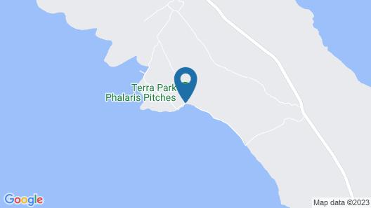 Mediteran kamp Glamping Tents in Camping Phalaris Map