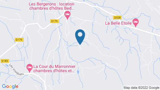 Charming Farmhouse in Pont-de-barret With Swimming Pool Map