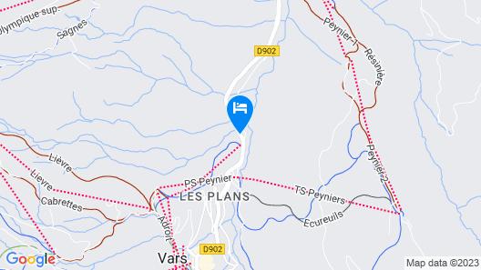 Les Lores Map