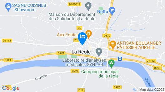 Arts et Remparts Map