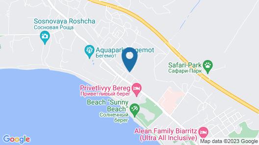 Guest House Laguna Map