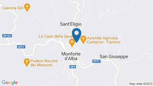 Hotel Villa Beccaris Map
