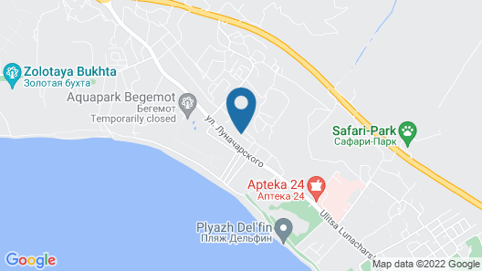 Guest house Lima Map