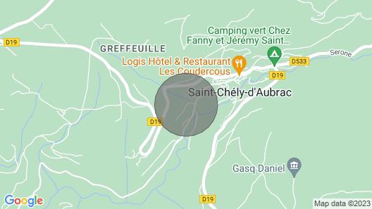 Gite le Marquès in Aubrac Map