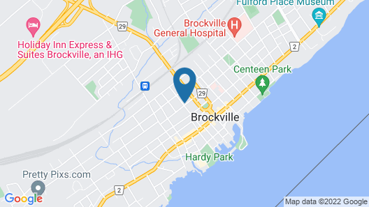 Green Door B&B Brockville Map