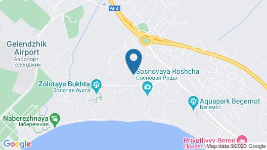 Orchestra Horizont Gelendzhik Resort - All Inclusive Map