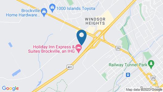 Travelodge by Wyndham Brockville Map