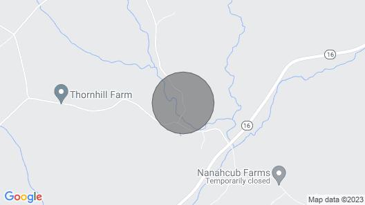 Remote Greensboro Home W/porch & Countryside Views Map