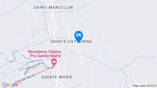 Résidence Pierre & Vacances Le Pic de Chabrières Map
