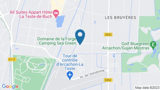 Camping Domaine de la Forge Map