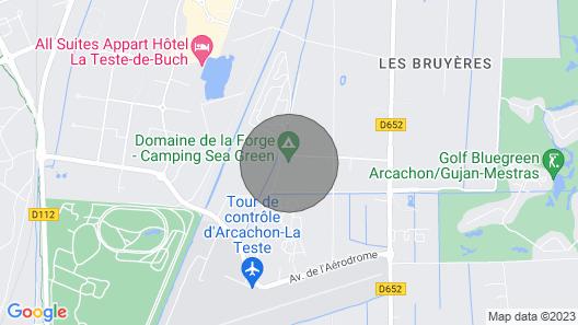 Mobil Home 8 Personnes Domaine de la Forge 4 Map