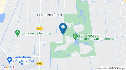 Résidence Prestige Odalys Les Greens du Bassin Map
