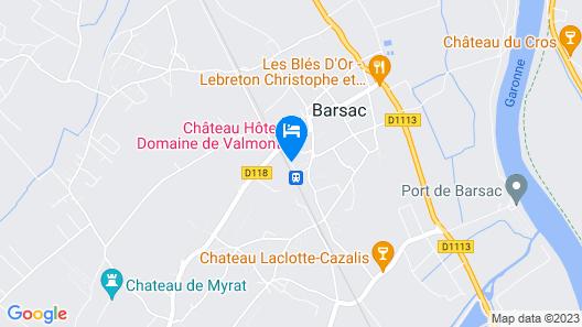 Domaine de Valmont Map
