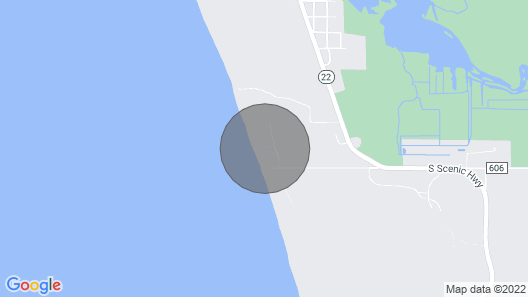105' of Private Lake MI Beach. 3-day Winter Weekends Available! Map