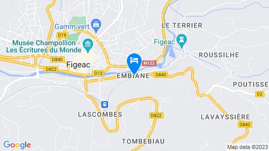 The Originals Access, Hôtel Figeac (Inter-Hotel) Map