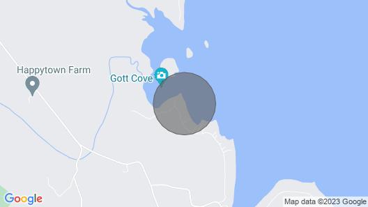Natural Setting Minutes From Acadia National Park And Bar Harbor Map