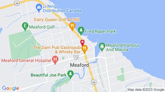 Meaford Inn Map