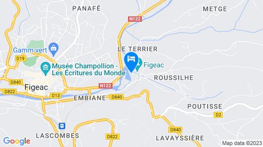 Domaine du Surgié - Cottages Map