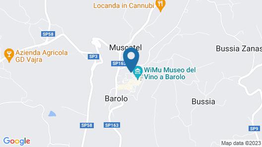 Hotel Barolo Map