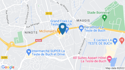 Hôtel Altica La Teste Sud Map