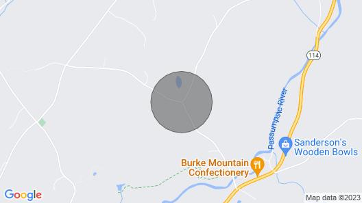 2bdrm East Burke Apt Great Location Map