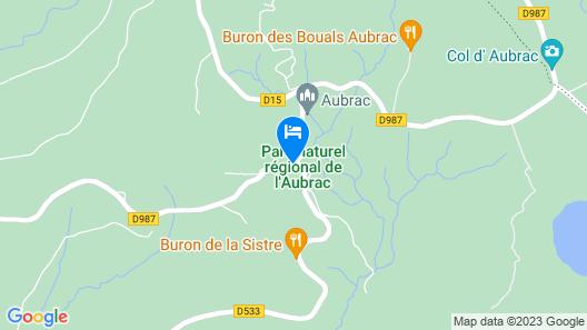 Comptoir d'Aubrac Map