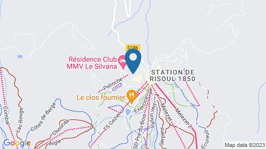 Vacancéole - Résidence Vega Map
