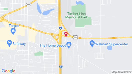 Phoenix Inn Suites - Albany Map