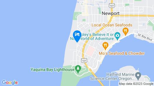 Hallmark Resort - Newport Map