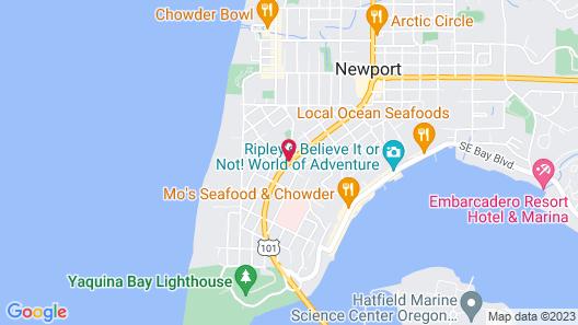 Days Inn by Wyndham Newport OR Map
