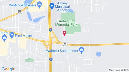 Best Western Plus Prairie Inn Map