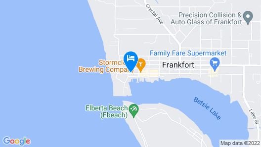 Hotel Frankfort & Restaurant Map