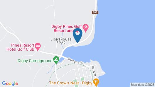 Digby Pines Golf Resort & Spa Map