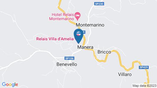 Relais Villa D'Amelia Map