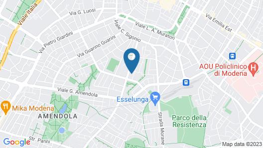 Emilia Suite Life Map